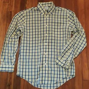 Brooks Brothers Check Plaid Regent Supima Cotton